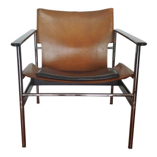 1960's Vintage Charles Pollock for Knoll Sling Chair For Sale