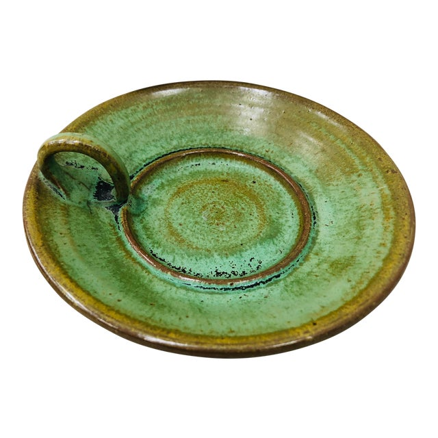 Hand Made Pottery Dish For Sale