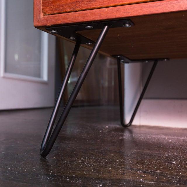 Arne Wahl Iversen for Vinde Mobelfabrik Danish Modern Teak Dresser For Sale - Image 10 of 10