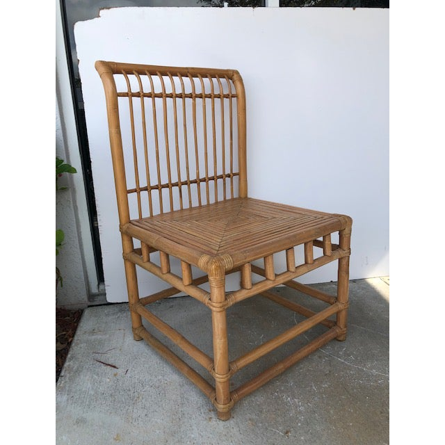 1980s Vintage Retro Boho Chic Accent Chair For Sale - Image 4 of 11