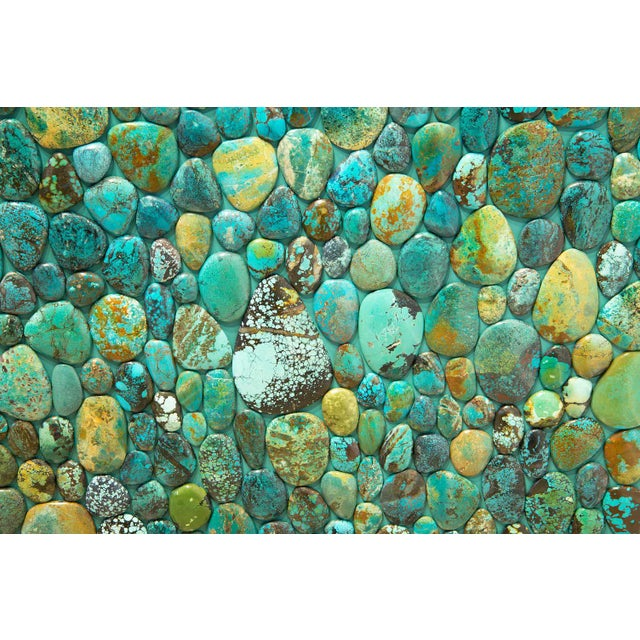 Kam Tin - Sideboard Covered With Real Turquoise Cabochons, France, 2013 For Sale - Image 9 of 10