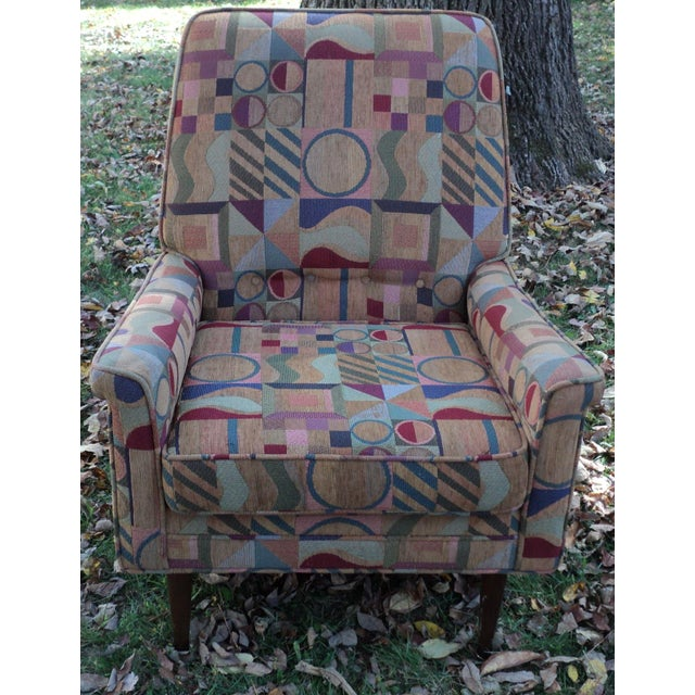 Mid-Century Modern Lounge Club Chair - Image 8 of 9
