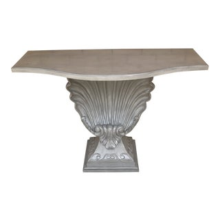 Regency Shell Console For Sale