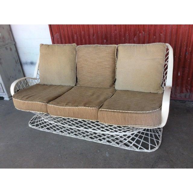 Brilliant 1950S Vintage Russell Woodard Spun Fiberglass Sofa Machost Co Dining Chair Design Ideas Machostcouk