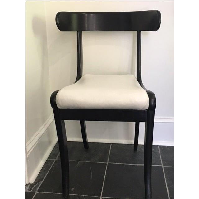 1930s Ebonized Klismo Chairs - Set of 4 - Image 3 of 10