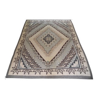 1980s Very Large Navajo Rug - 8′2″ × 10′7″ For Sale