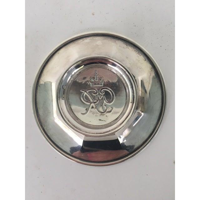 George VI Silver Coronation Souvenir Ashtray For Sale In New York - Image 6 of 7