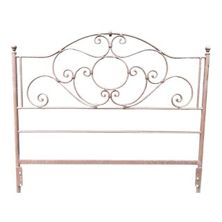 Cottage Charleston Forge Queen/Full Headboard For Sale