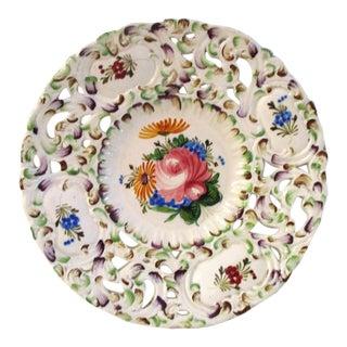 Vintage A. Borsato Italian Pottery Platter For Sale