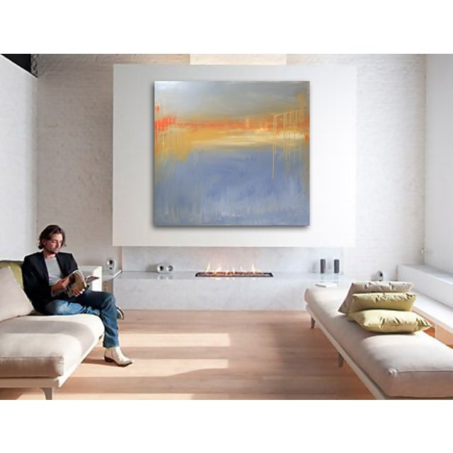 'FiRE iSLAND' Original Abstract Painting - Image 3 of 7