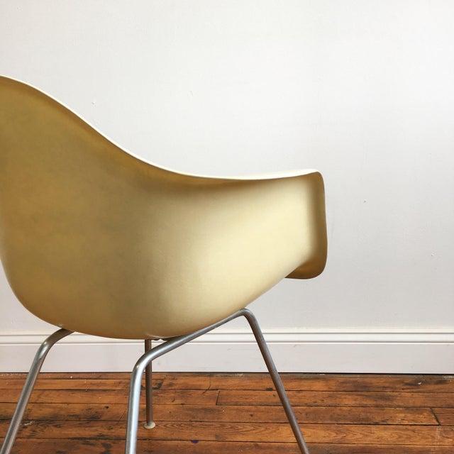 vintage herman miller eames fiberglass shell chair chairish