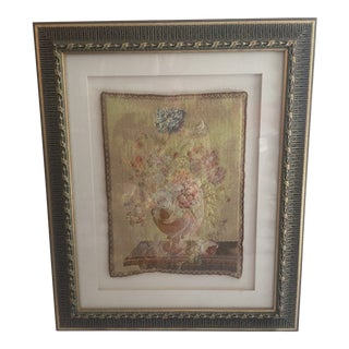 Framed French Aubusson Tapestry