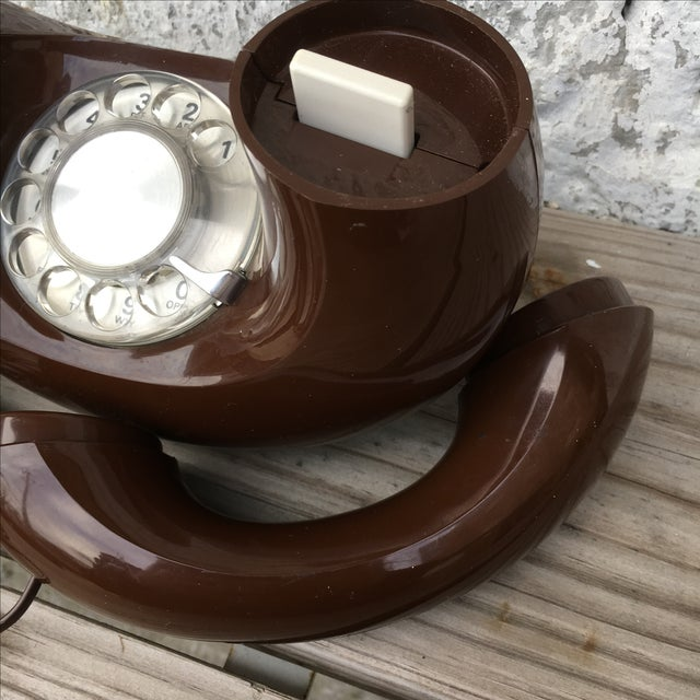 Midcentury Western Electric Donut Touch Tone Phone - Image 5 of 7