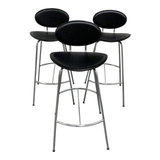 Room and Board Radias Barstools - Set of Three For Sale
