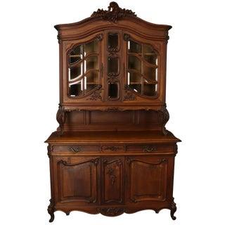 Buffet Louis XV Rococo Walnut 1900 20-29 For Sale