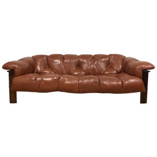 Percival Lafer Brazilian Rosewood Sofa