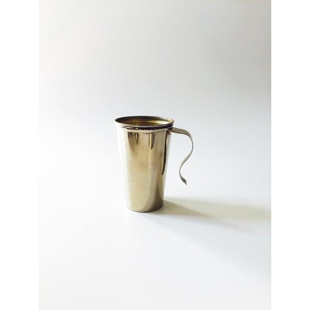 Vintage Metal Travel Mugs - Set of 6 - Image 4 of 6