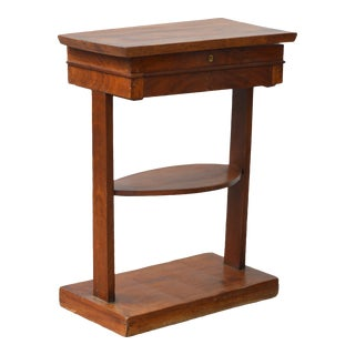 English Mahogany Writing Stand in the Neoclassical Taste For Sale