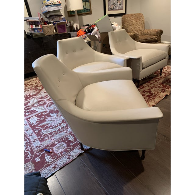 Art Deco Modern Brigitte Chairs For Sale - Image 3 of 13