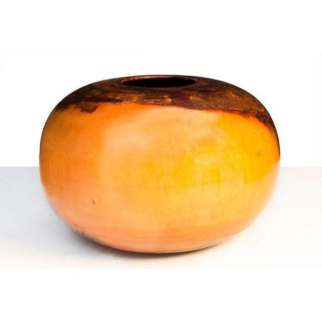 Brown Edward Moulthrop Tulipwood Vessel For Sale - Image 8 of 9