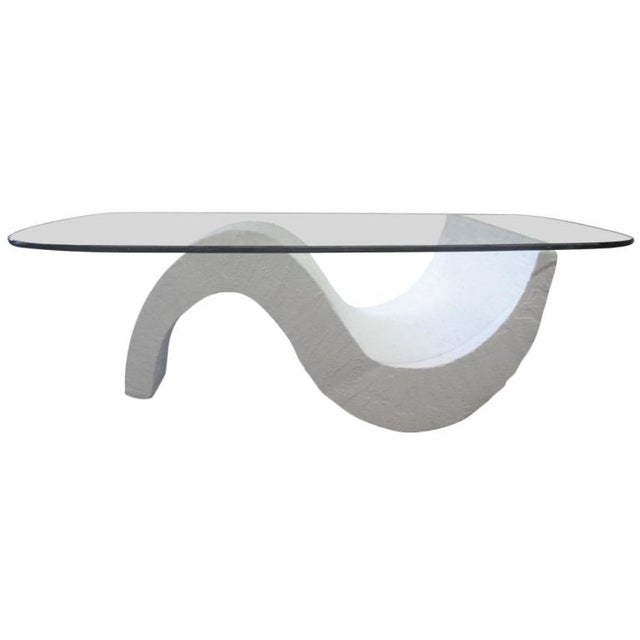 S-Base Concrete Coffee Table - Image 1 of 5