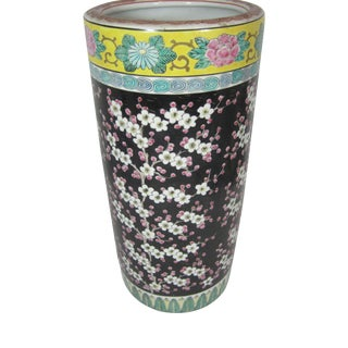 Japanese Cherry Blossoms Umbrella Stand For Sale