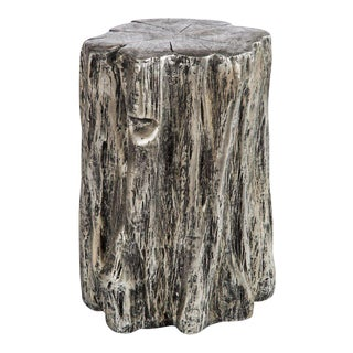 Statements by J Silver Low Log Stool For Sale