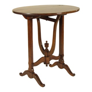 19th Century French Provincial Wine Tasting Table For Sale