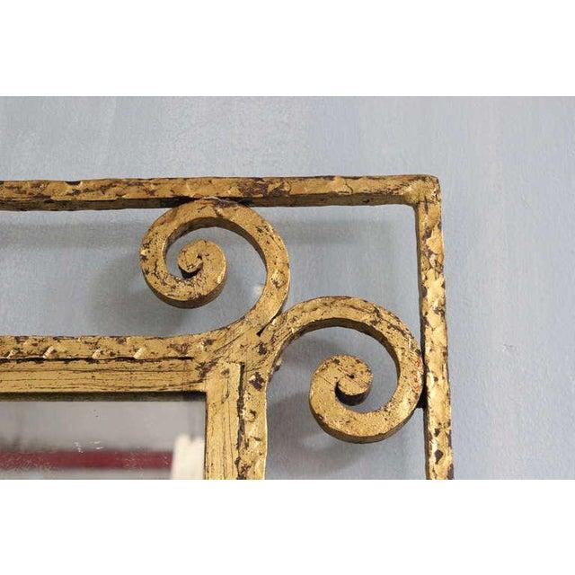 Spanish Gilt Metal Mirror - Image 5 of 10