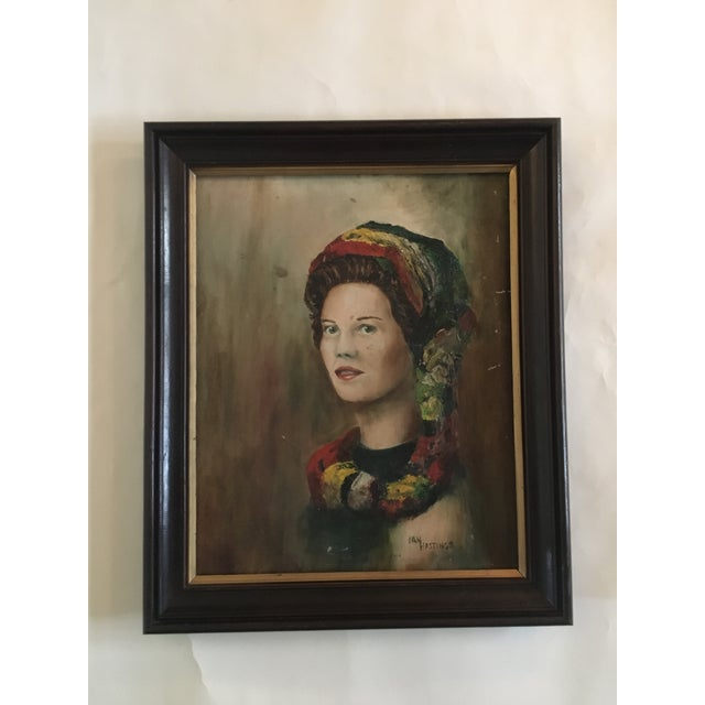 Painting Portrait of an Exotic Woman - Image 12 of 12