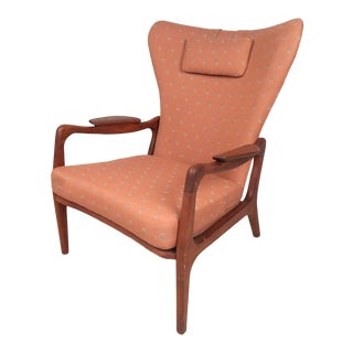 Wingback Lounge Chair by Adrian Pearsall For Sale