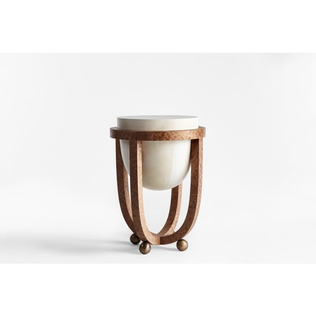 The drum series references the tombak, a Foundational instrument in persian music, As a point of departure. Parchment is...