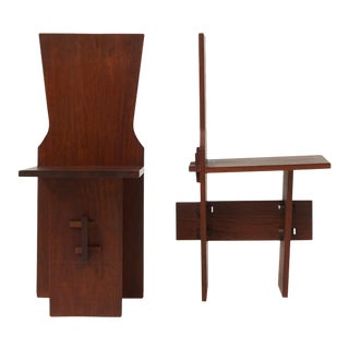 Pair of Side Chairs by Daniel B.H. Liebermann