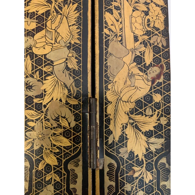 Chinese Hand Painted Lacquered Game Board For Sale - Image 11 of 13