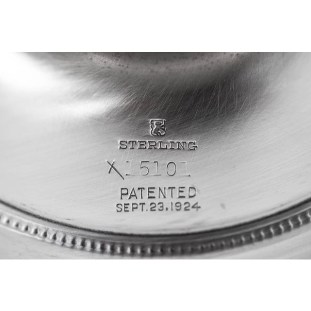 Sterling Lady Constance Tazza For Sale In New York - Image 6 of 8