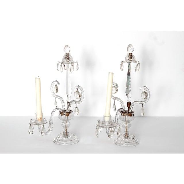 George II Cut Glass Girandoles / Lustres - Image 2 of 11