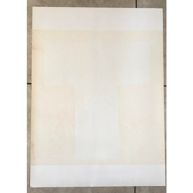 1978 Joan-Pere Viladecans Exhibition Poster Lithograph For Sale - Image 4 of 5