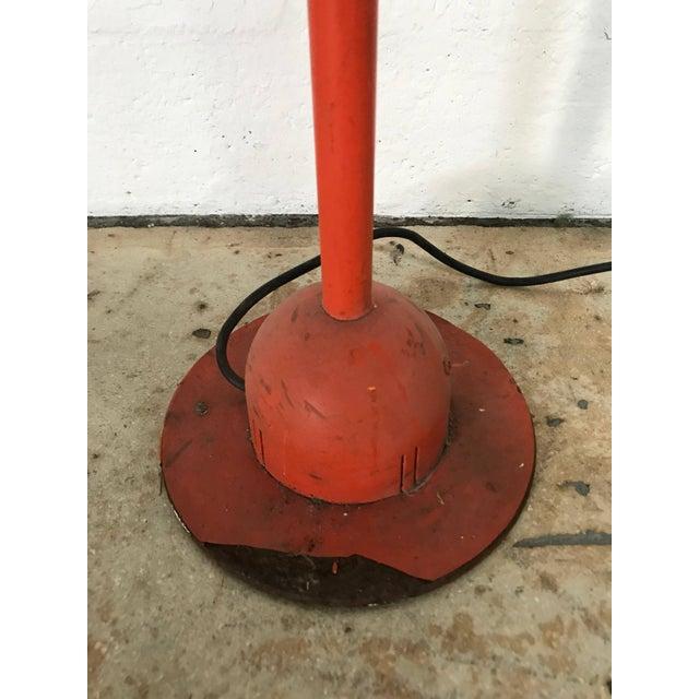 "Red Postmodern Mario Arnaboldi ""Mira"" Floor Lamp for Programmaluce For Sale - Image 8 of 9"