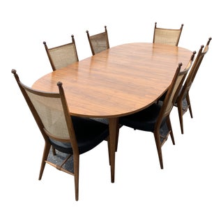 Drexel Declaration Mid Century Modern Dining Set For Sale