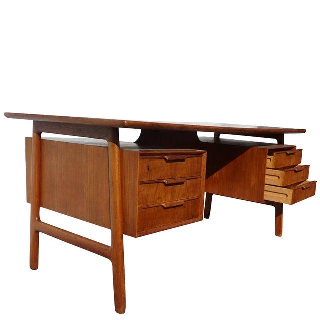 Gunni Omann 20th Century Scandinavian Gunni Omann Writing Desk For Sale - Image 4 of 9