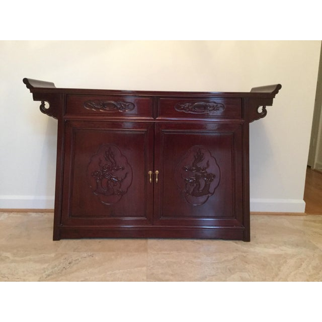 Solid Rosewood Sideboard - Image 2 of 5