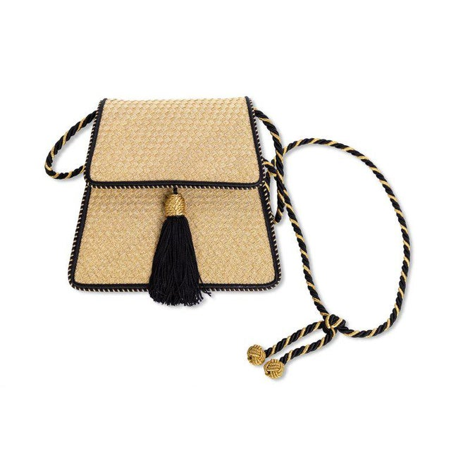 ... Silk Tassel Evening Bag For Sale. Known for their iconic weaving  surface design 222f46fad6d28