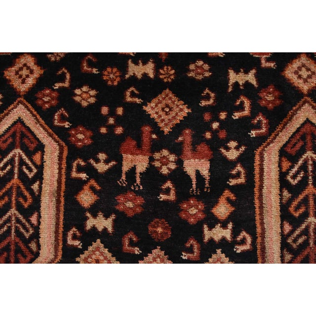 Vintage Persian Koliai Rug - 4'3'' X 10'1'' For Sale - Image 9 of 13