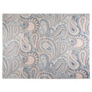 Stark Studio Contemporary New Oriental Tibetan Silk Rug - 9′ × 12′2″ For Sale