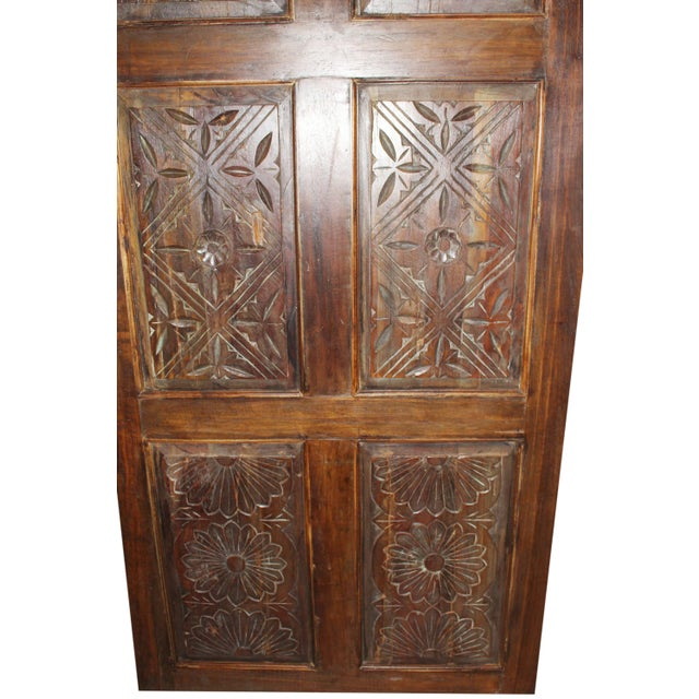 19th Century Antique Carved Door For Sale - Image 4 of 6