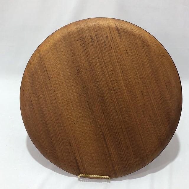 Herman Miller Mid-Century Herman Miller Walnut Tray For Sale - Image 4 of 9