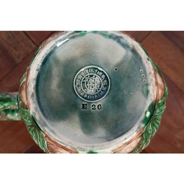Late 19th Century Etruscan Shell and Seaweed Majolica Set, Late 19th Century For Sale - Image 5 of 11