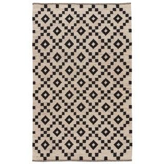 """Jaipur Living Croix Handmade Geometric Black/ White Runner Rug - 2'6"""" X 8'"""