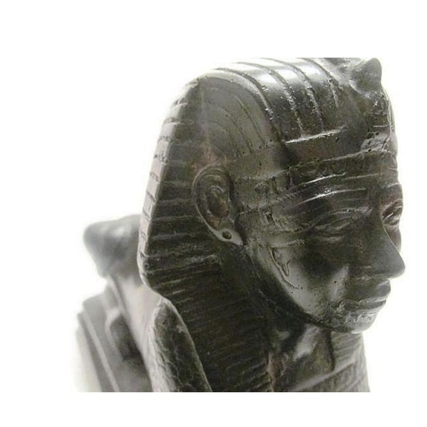 Vintage Black Marble Sphinx For Sale In Richmond - Image 6 of 6