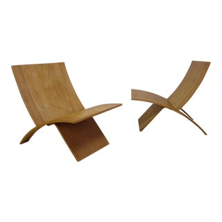 Mid-Century Jens Nielsen for Westnofa Laminex Chairs - 1 Available